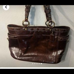 Coach Leather bag, great condition